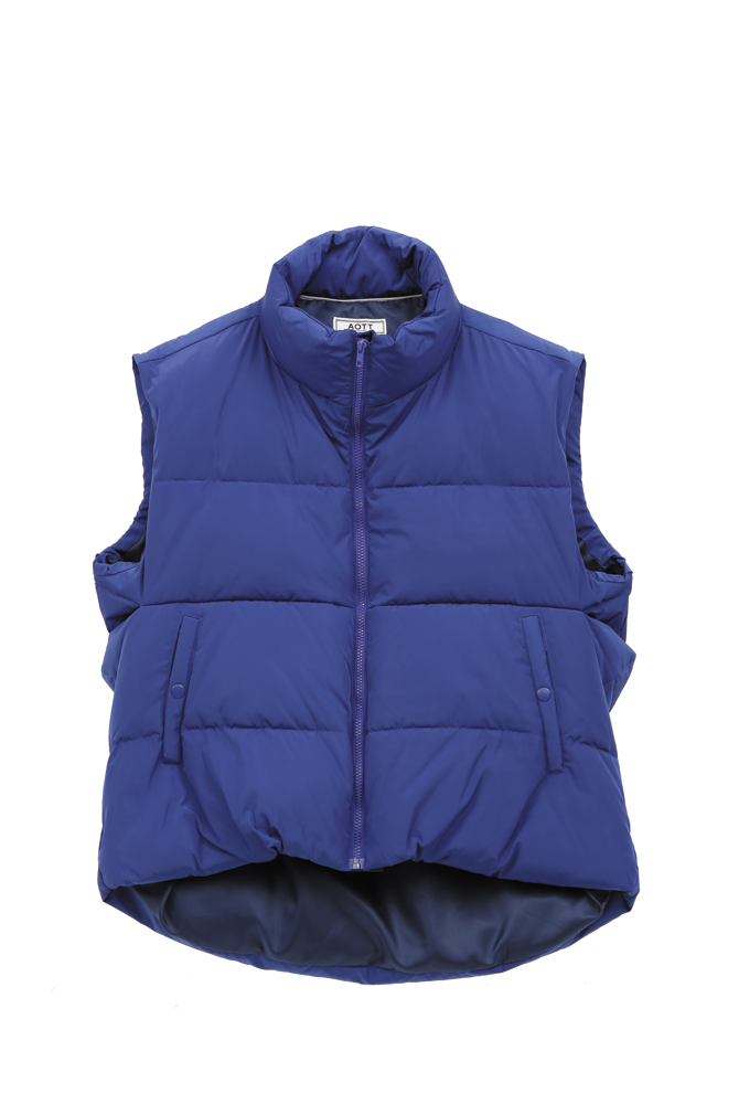 UNISEX 3M DUCK DOWN PADDING VEST BLUE