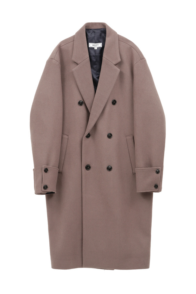 UNISEX CUFFS DOUBLE COAT PINK