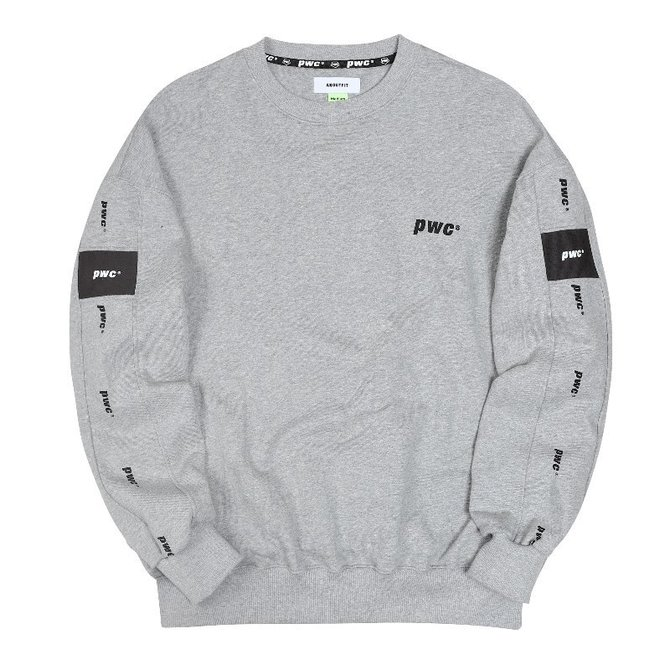 UNISEX PWC TAP SWEAT SHIRTS GREY