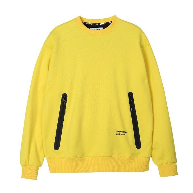UNISEX PWC WELDING SWEAT SHIRTS YELLOW