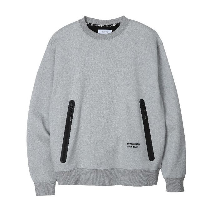 UNISEX PWC WELDING SWEAT SHIRTS GREY