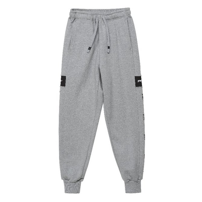 UNISEX PWC TAP JOGGER TRACK PANTS GREY