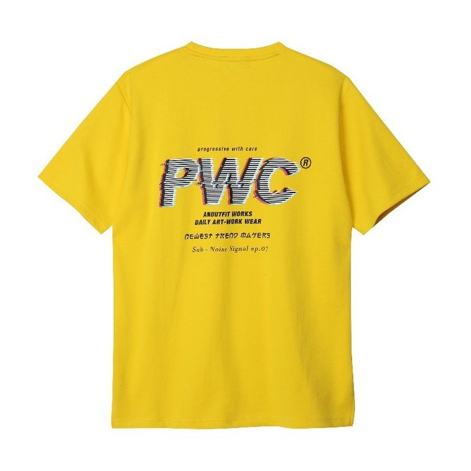 UNISEX AXP T-SHIRTS YELLOW