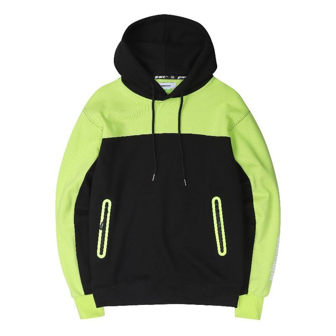 [스크래치상품]UNISEX PWC WELDING HOOD YELLOW GREEN