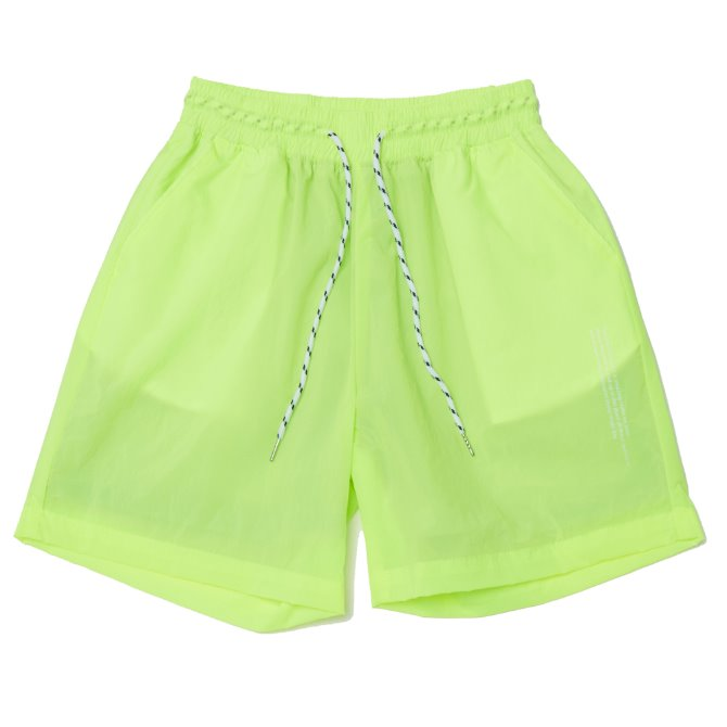UNISEX MONO SHORT PANTS YELLOWGREEN