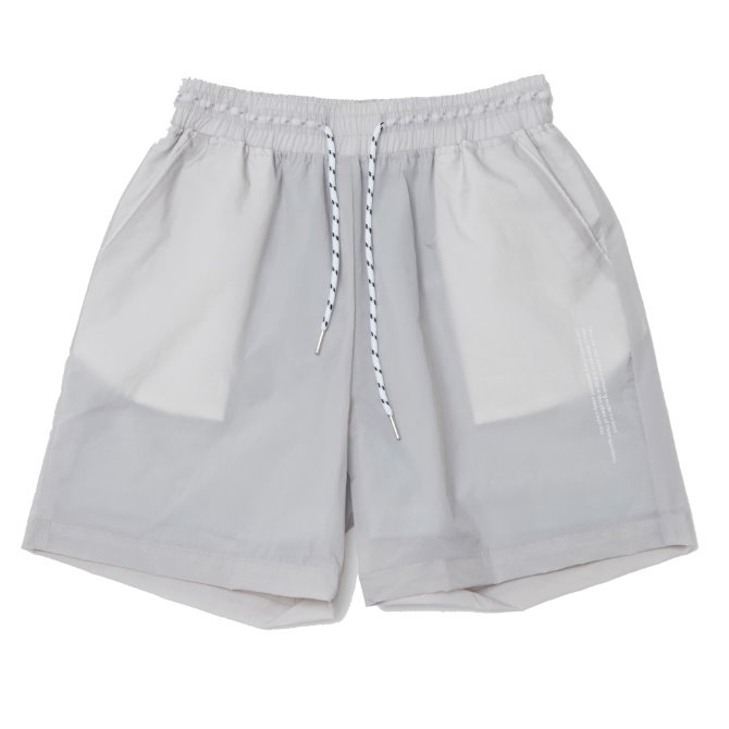 UNISEX MONO SHORT PANTS GREY