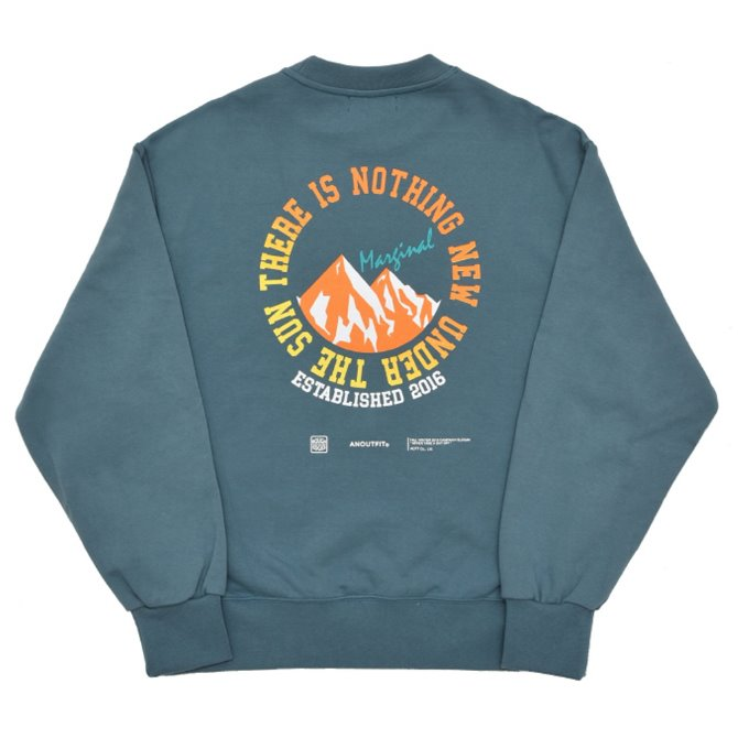 UNISEX MOUNITAIN HEAVY SWEATSHIRT MINT GREEN