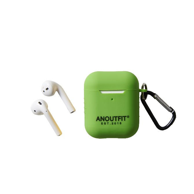 ANOUTFIT AIRPODS CASE YELLOW GREEN