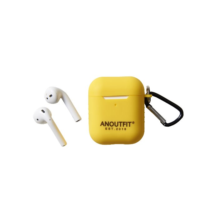 ANOUTFIT AIRPODS CASE YELLOW