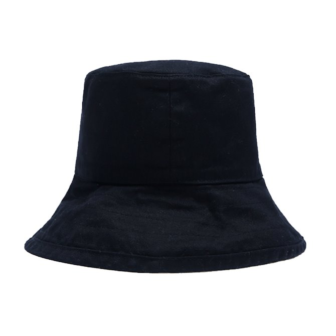 UNISEX OVER BUCKET HAT BLACK
